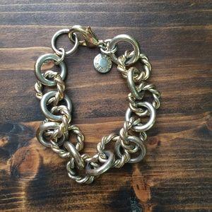 Classic Gold Link Bracelet